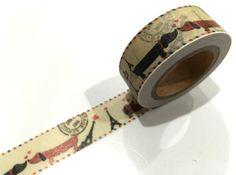 Washi tape, is een decoratieve masking tape die komt in vele patronen, breedtes en ontwerpen die perfect zijn voor het maken van kleine ambachten en