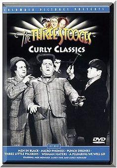 Three Stooges: Curly Classics  DVD Moe Howard, Larry Fine, Curly Howard, Carmen