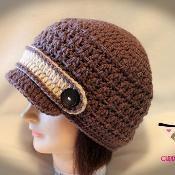 Woodland Newsboy Crochet Pattern - via @Craftsy