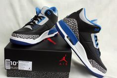 release date 97455 61342 Air Jordan III Sport Blue (August 2014) Preview Air Jordan 3, Herensneakers,