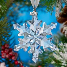 2012 Swarovski® Annual Edition Ornament ~ Costco usually has a better price on these ornaments than if bought elsewhere. Look for them at your local costco.