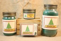 Christmas Tree Scented Candle Christmas Tree Scented Wax