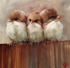 """Daily Paintworks - """"Stuck in the Middle"""" - Original Fine Art for Sale - © Krista Eaton"""