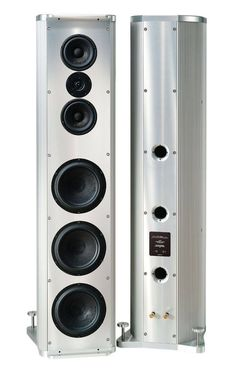 All metal KRELL LAT 1 speaker