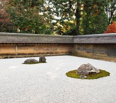 Ryoan-ji temple, Kyoto: the art of Japanese garden by Andreas H*