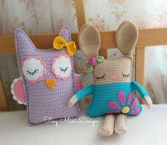 Cracker Girl Bunny Free Pattern- Part 2 ( Turkish and English Version) Bunny Crochet, Crochet Animals, Crochet Dolls, Crochet Toys Patterns, Stuffed Toys Patterns, Doll Patterns, Crochet Cushions, Crochet Pillow, Knitting Projects