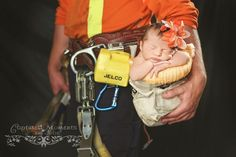 Baby lineman photography