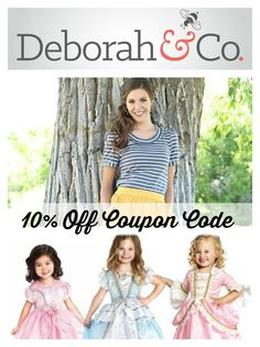 10% Off Coupon Code for Deborah & Co. from #sponsor @themodestmom