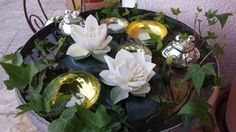 Sommer Schatzkiste Table Decorations, Plants, Furniture, Home Decor, Summer Decorating, Pastel, Ideas, Round Round, Homes