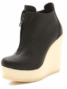 Pedro garcia High Wedge Booties on shopstyle.com