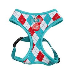 Puppia Authentic Argyle Harness A Small Aqua * You can get more details by clicking on the image.(This is an Amazon affiliate link and I receive a commission for the sales)
