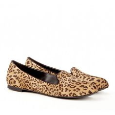 favorite.  leopard print loafer
