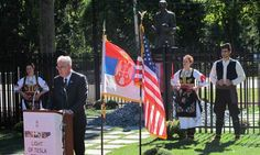 Serbian president unveils Nikola Tesla monument in New York  Just a modicum of what the man is due.