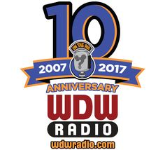WDW Radio 10th Anniversary logo gear is now available! Shirts, mugs, cases, and more! T-Shirts ON SALE for just $14!