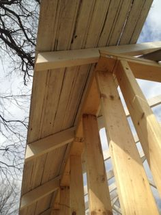 Putting the roof on The Love Shack