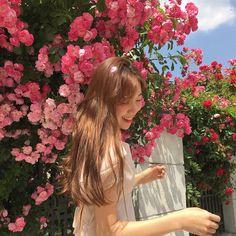 Korean Aesthetic, Aesthetic Photo, Aesthetic Girl, Ulzzang Korean Girl, Cute Korean Girl, Asian Girl, Ullzang Girls, Cute Girls, Korean Photo