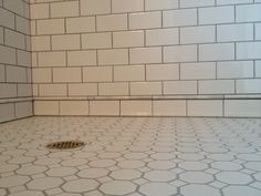 White 3x6 Tile 1 8 Quot Grout Lines Sanded Grout In Delorean
