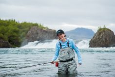 Lizzie Bell with Einarsson Fly Fishing team in Nordura river Iceland. Fishing Reels, Fly Fishing, South Texas, Bradley Mountain, Iceland, Photo Galleries, Around The Worlds, River, Gallery
