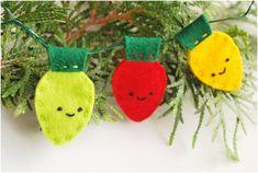 Top 10 DIY Felt Christmas Tree Ornaments