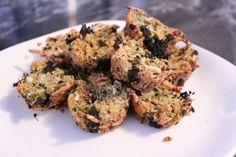 Broccoli 'Cheddar' Quinoa Mini-Muffins - These Things I Love