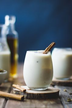 Spiced Pumpkin Seed Maple Horchata (with Calvados)