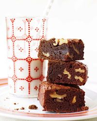 Gooey Walnut Brownies // More Dessert Bars: http://www.foodandwine.com/slideshows/dessert-bars #foodandwine