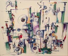 """Saatchi Art Artist Ric Grossman; Painting, """"Heartful Embrace"""" #art"""