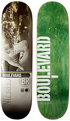 Blvd Skateboards Cityscape Cerezini Deck, 8.25-Inch: Pro quality 7 ply Canadian maple skateboard deck Great deck for skaters just starting…