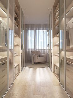 14 Walk In Closet Designs For Luxury Homes Wardrobe Room, Wardrobe Design Bedroom, Closet Bedroom, Master Bedroom, Dressing Room Closet, Dressing Room Design, Dressing Rooms, Walk In Closet Design, Closet Designs