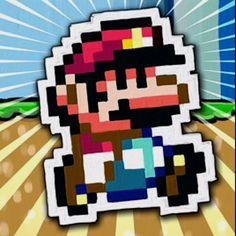 Mario pixelado!