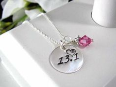 Sterling Silver Hand Stamped RUNNERS Run by auctionprincess, $38.00