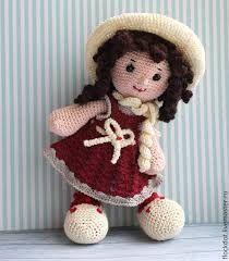 Resultado de imagem para como fazer bonecas em croche Crochet Doll Clothes, Knitted Dolls, Crochet Dolls, Crochet Fairy, Cute Crochet, Crochet Patterns Amigurumi, Amigurumi Doll, Crochet Decoration, Stuffed Toys Patterns