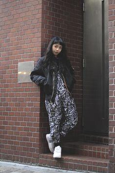 [Street Style] 鶴田 ひろみ | NADIA, 学生 | Harajuku (Tokyo)