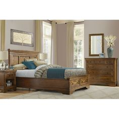 Carolina Home Collection Melbourne Panel Customizable Bedroom Set