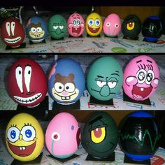 SpongeBob character Easter eggs '16