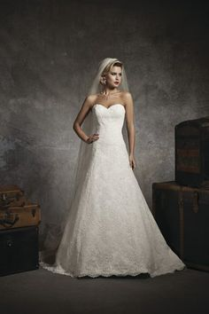 Wedding dress from shop on the Oxfordshire and Buckinghamshire border - Anna McDonald Bridal Gallery