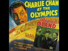 Charlie Chan at the Olympics (1937) is possibly the most topical Charlie Chan film, as