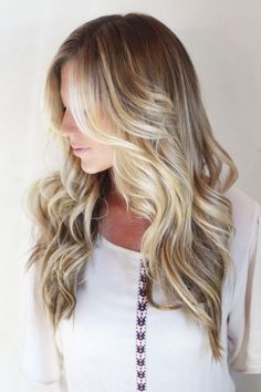 blonde balayage <3