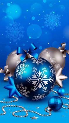Raindrops and Roses - Blue Christmas - Christmas Scenes, Noel Christmas, Christmas Balls, Christmas Pictures, Christmas Greetings, Christmas Crafts, Christmas Decorations, Christmas Ornaments, Silver Christmas