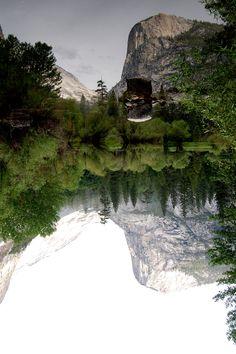 mirror lake, yosemite