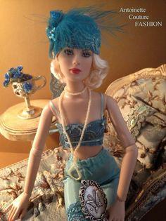 Fashion Dolls Couture - Unlimited: 1920s UNDERWEAR
