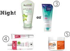 Night time Skin Care