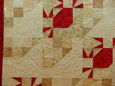 This is another customer's quilt. This quilt belongs to Judy and I believe she has made it for a raffle.