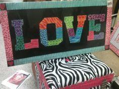 """Love"" animal print sign and Zebra chest - Ross"