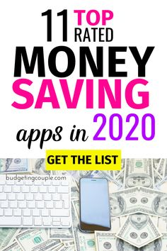 *Ultimate Life Hack* These top-rated apps (for iOS & Android) will help you save money on autopilot. From cash-back opportunities to free gift cards g Best Money Saving Tips, Money Tips, Saving Money, Money Hacks, Save Money On Groceries, Ways To Save Money, Making A Budget, Making Ideas, Earn Free Money