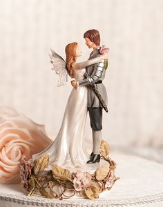 romeo & juliet wedding cake topper.