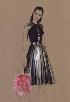 Fashion illustration. Part 12. on Behance
