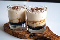 suikervrij dessert met ricotta en koffie