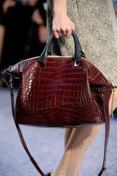 Chloé Baylee Bag in Croc Chloe Handbags 877ccebe85421