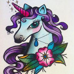 unicornio gotico